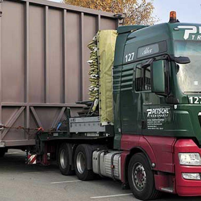 Sichere Spezialtransporte in unseren Händen